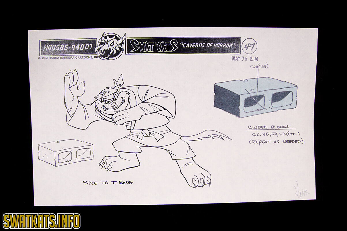 Caverns of Horror Model Sheets Gallery