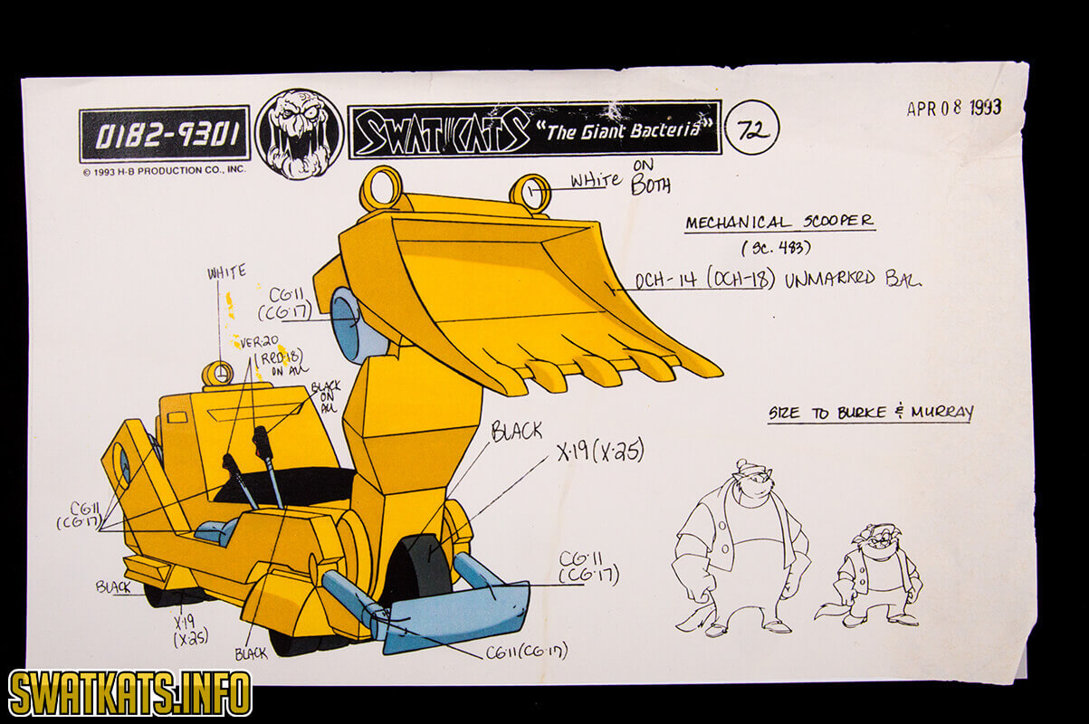 The Giant Bacteria Model Sheets Gallery